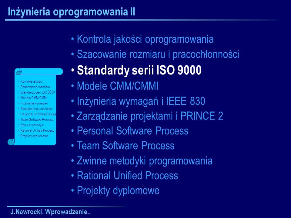 Inżynieria oprogramowania II
