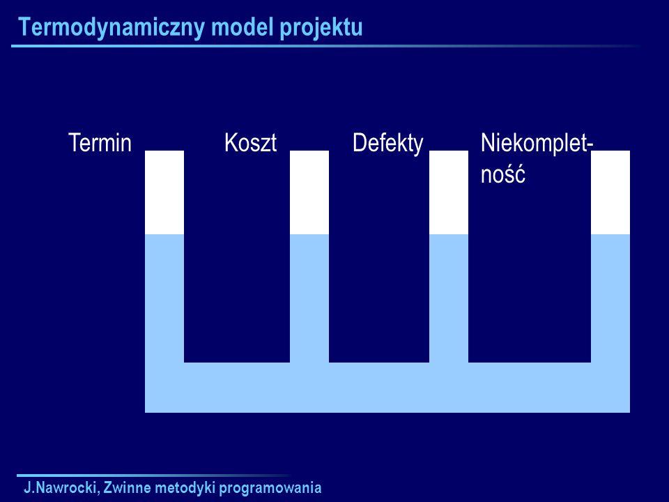 Termodynamiczny model projektu