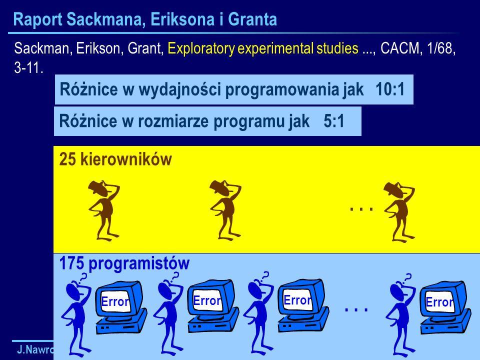Raport Sackmana, Eriksona i Granta