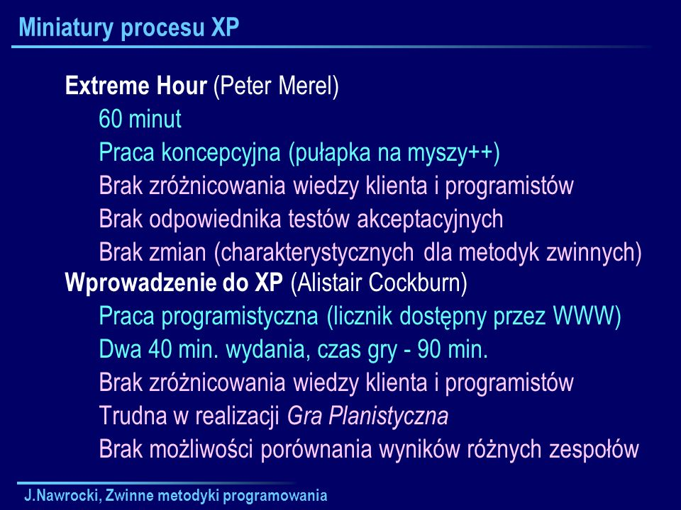 Extreme Hour (Peter Merel) 60 minut