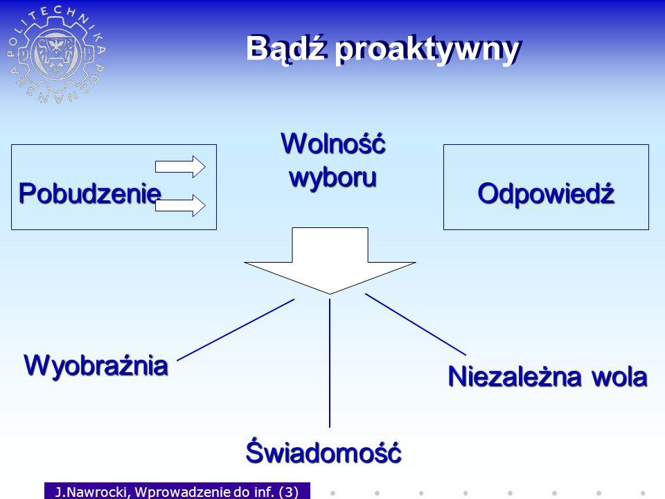 J.Nawrocki, Wprowadzenie do inf. (3)