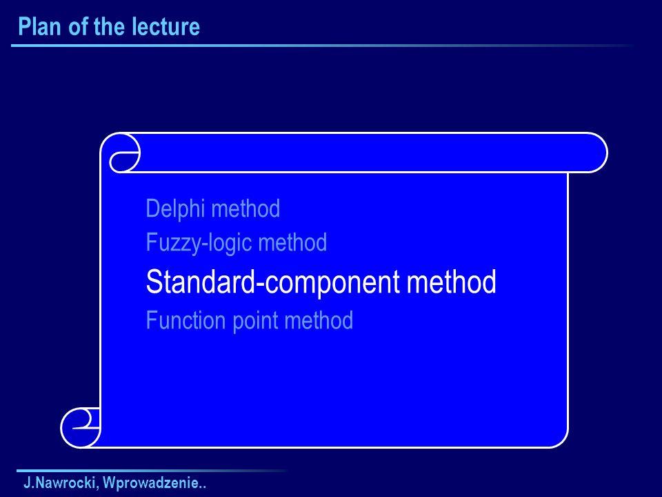 Standard-component method