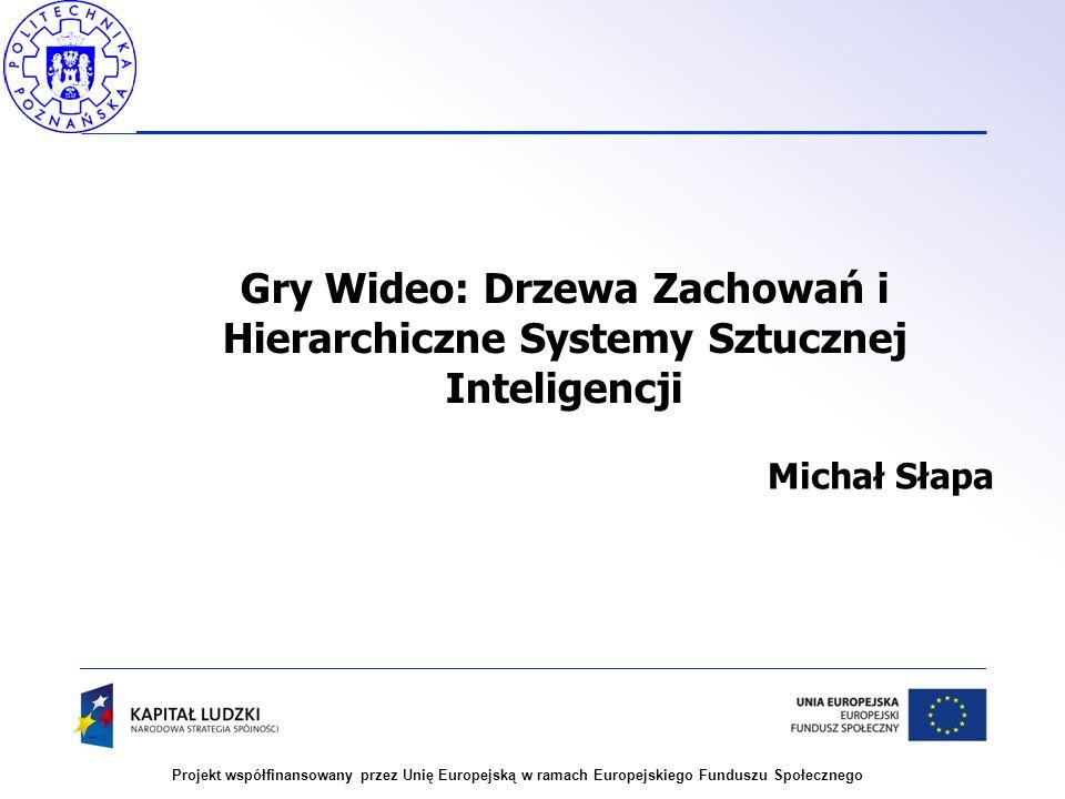 Gry Wideo: Drzewa Zachowań i Hierarchiczne Systemy Sztucznej Inteligencji