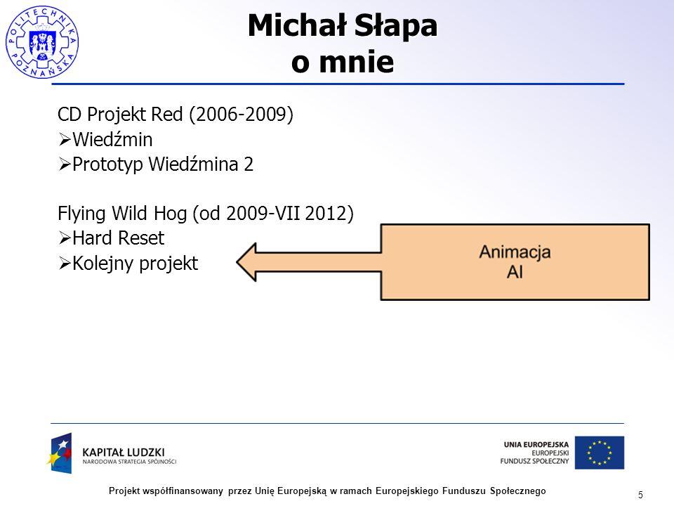 Michał Słapa o mnie CD Projekt Red (2006-2009) Wiedźmin