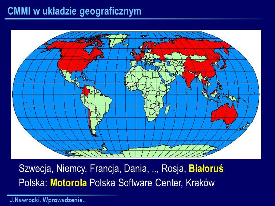 CMMI w układzie geograficznym