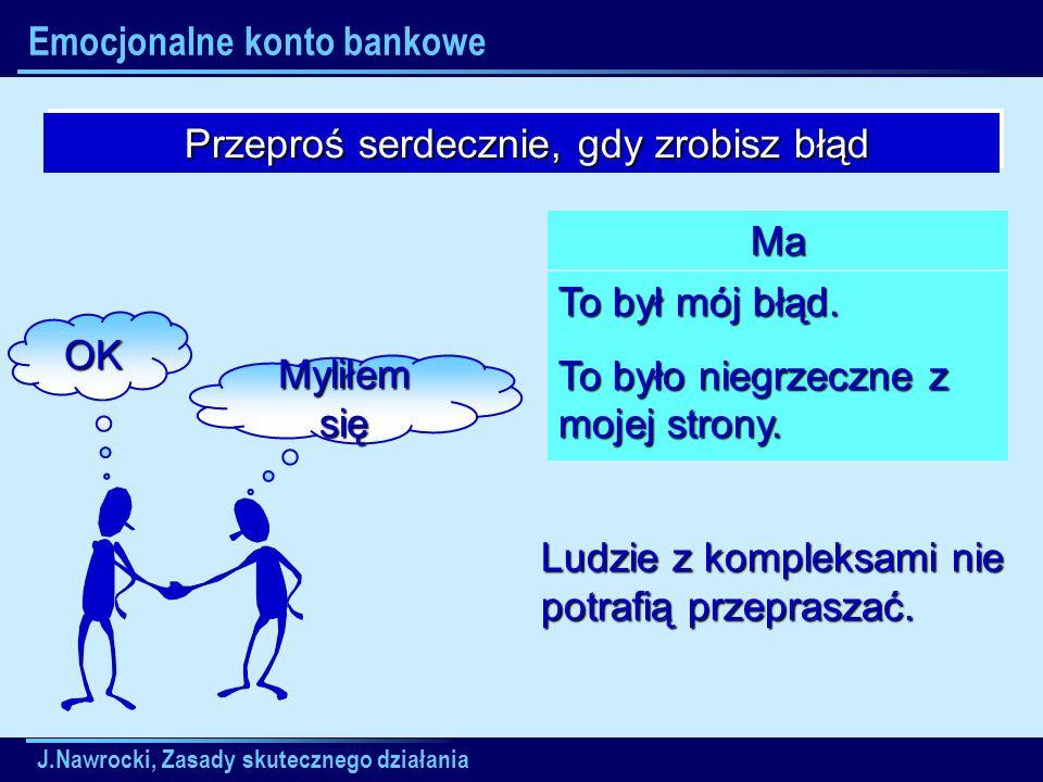 Emocjonalne konto bankowe