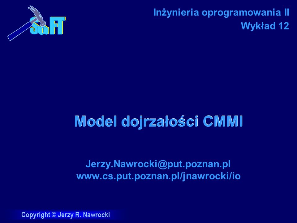 Model dojrzałości CMMI