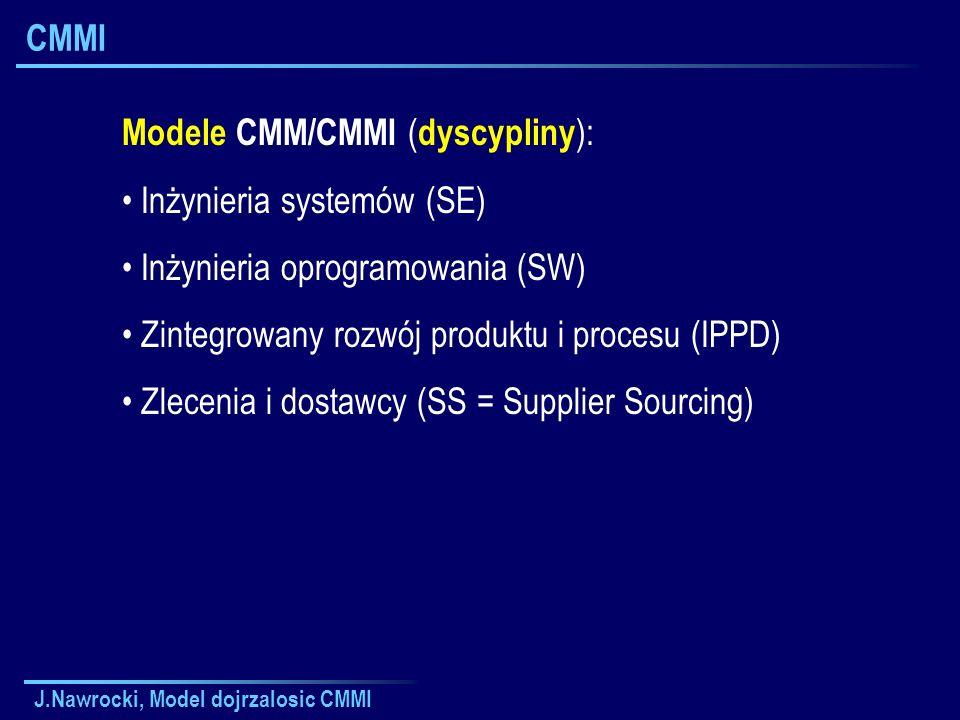 Modele CMM/CMMI (dyscypliny): Inżynieria systemów (SE)