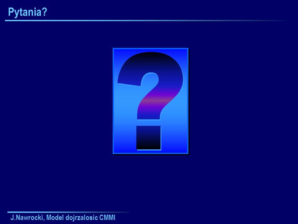 Pytania J.Nawrocki, Model dojrzalosic CMMI