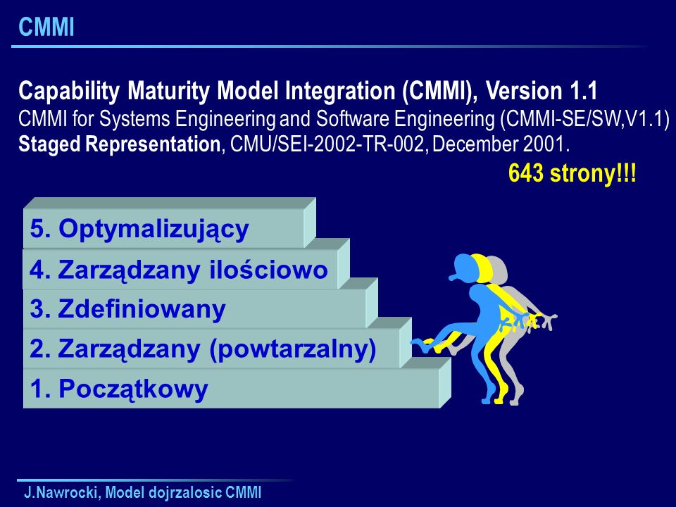 Capability Maturity Model Integration (CMMI), Version 1.1