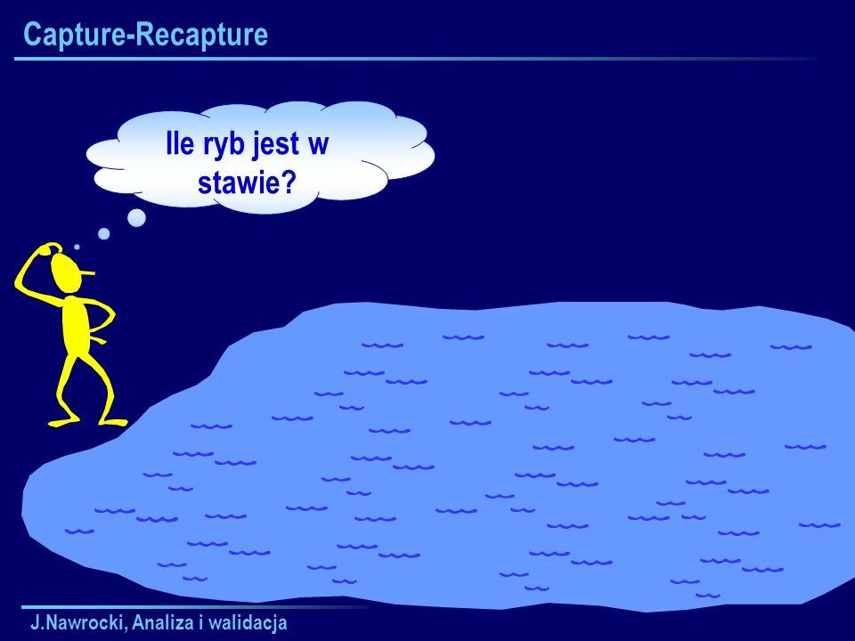 Capture-Recapture Ile ryb jest w stawie