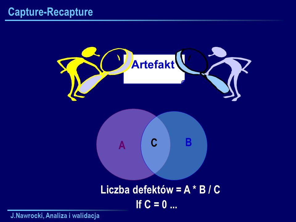 Liczba defektów = A * B / C