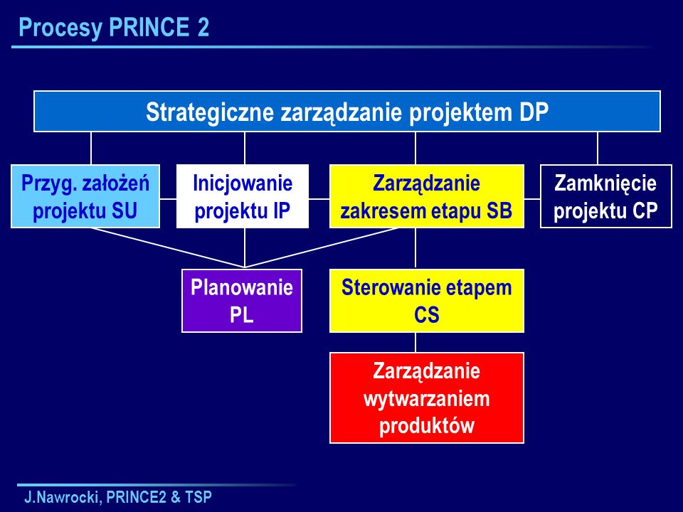 Strategiczne zarządzanie projektem DP