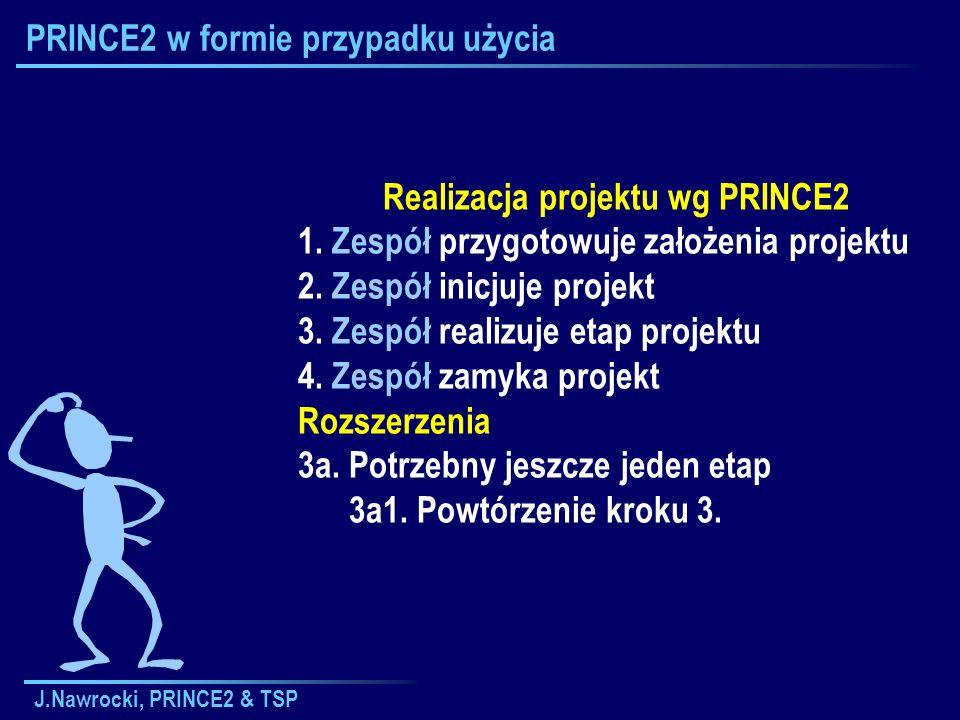 PRINCE2 w formie przypadku użycia