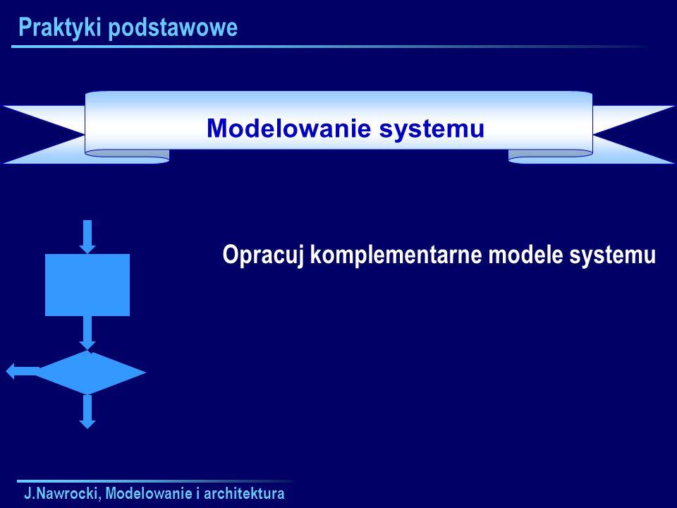 Opracuj komplementarne modele systemu