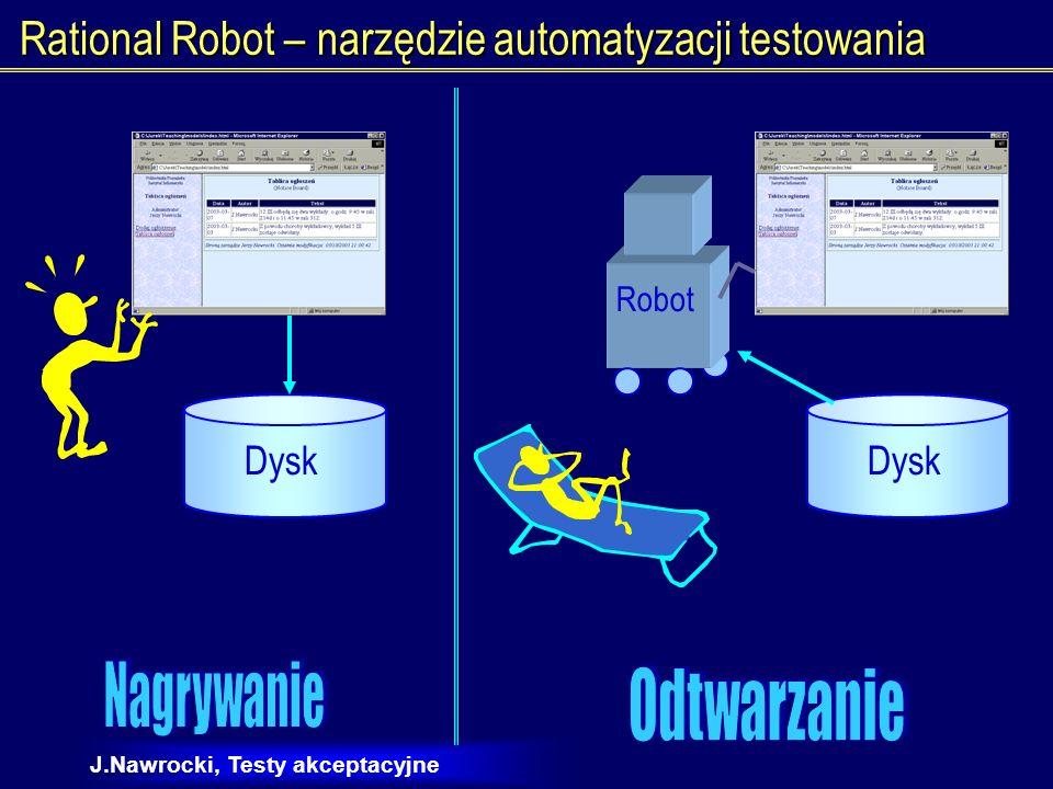 Rational Robot – narzędzie automatyzacji testowania