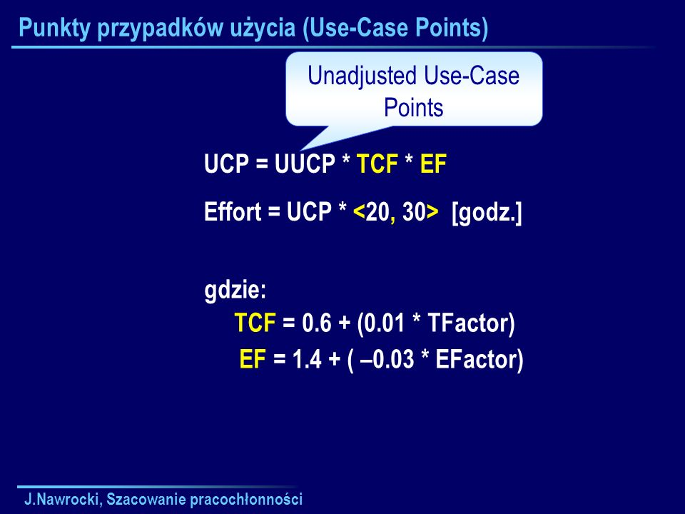 Punkty przypadków użycia (Use-Case Points)