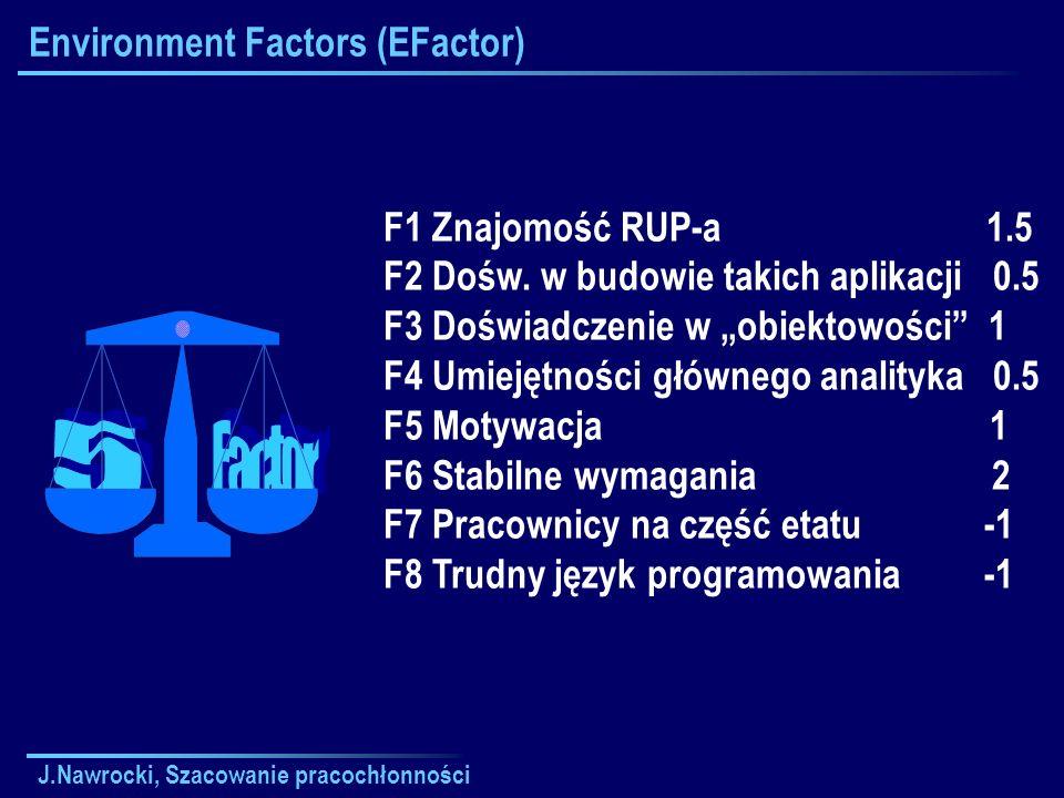 Environment Factors (EFactor)