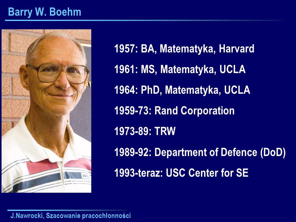 1957: BA, Matematyka, Harvard 1961: MS, Matematyka, UCLA