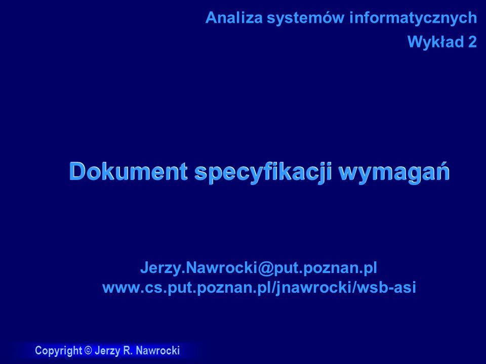 Dokument specyfikacji wymagań