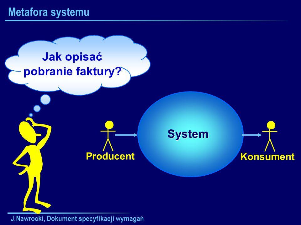 Jak opisać pobranie faktury System
