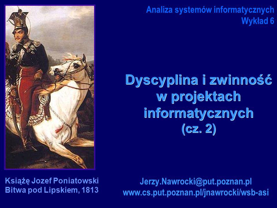 Dyscyplina i zwinność w projektach informatycznych (cz. 2)