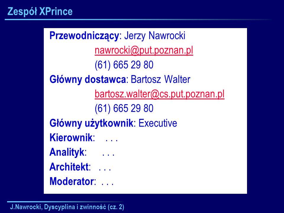 Przewodniczący: Jerzy Nawrocki nawrocki@put.poznan.pl (61) 665 29 80