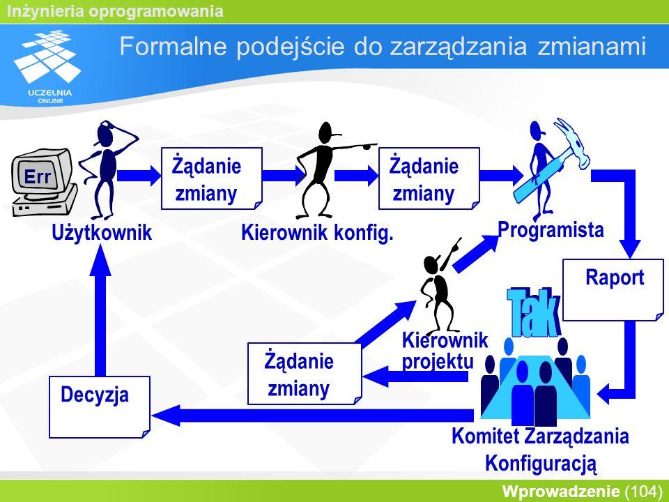 Formalne podejście do zarządzania zmianami