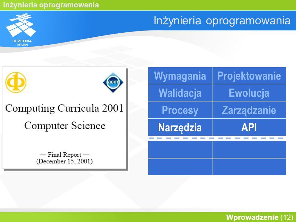 Inżynieria oprogramowania