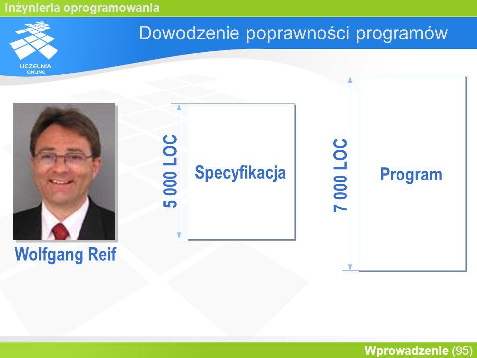 Dowodzenie poprawności programów