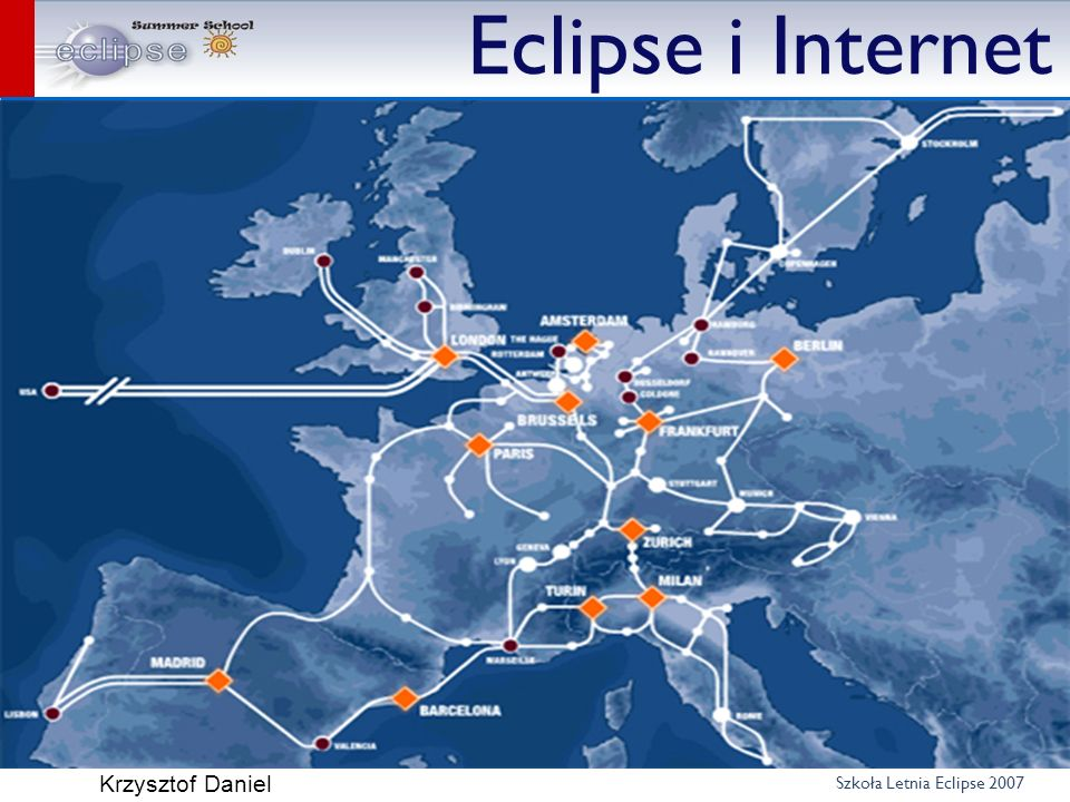 Eclipse i Internet