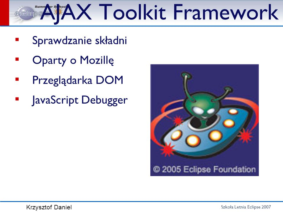 AJAX Toolkit Framework