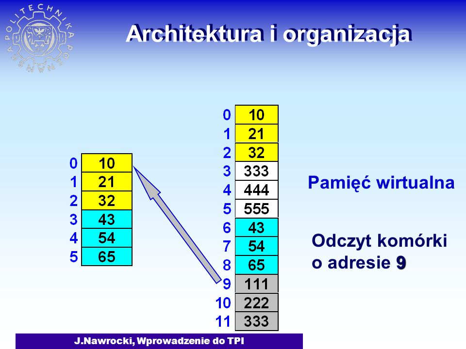 Architektura i organizacja