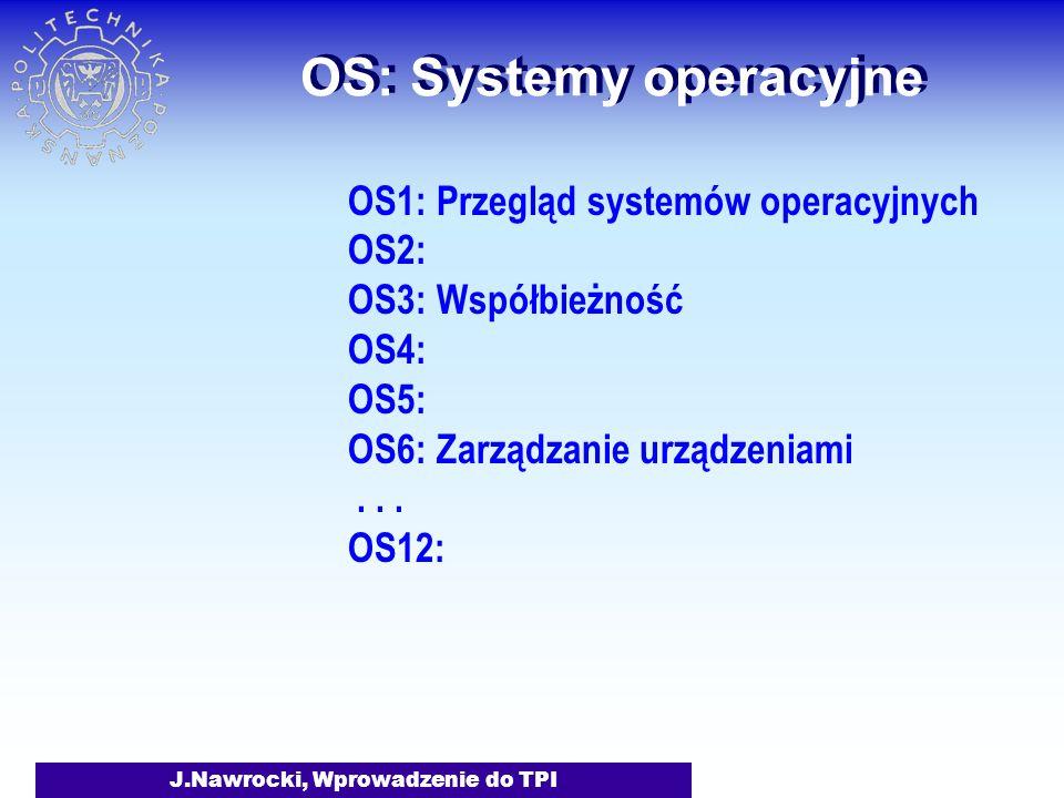 OS: Systemy operacyjne