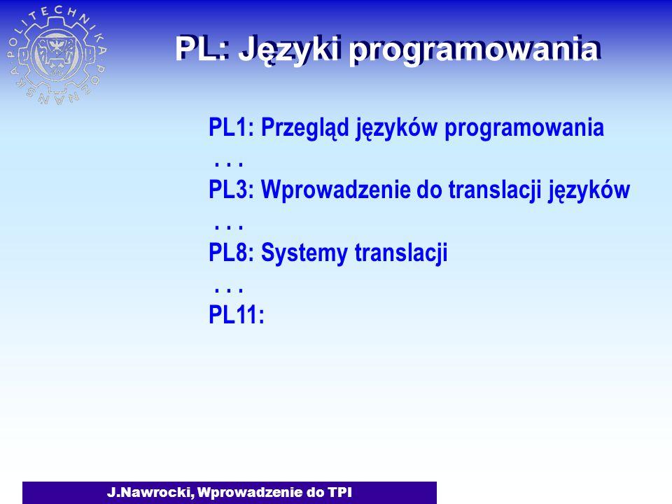 PL: Języki programowania