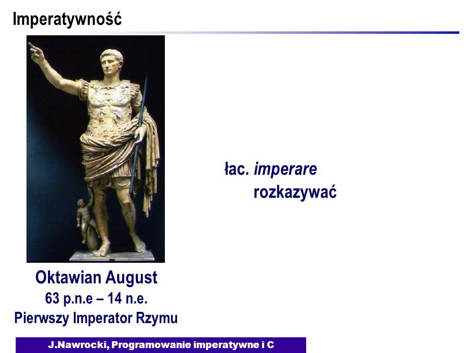 Pierwszy Imperator Rzymu