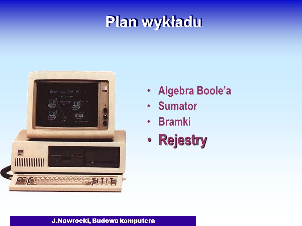 J.Nawrocki, Budowa komputera