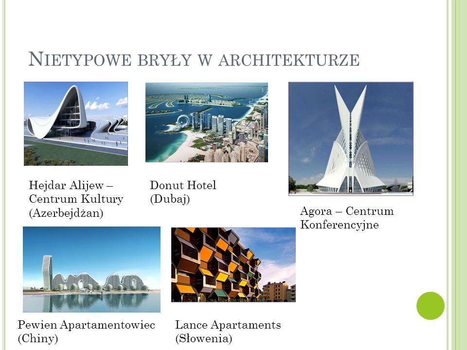 Nietypowe bryły w architekturze