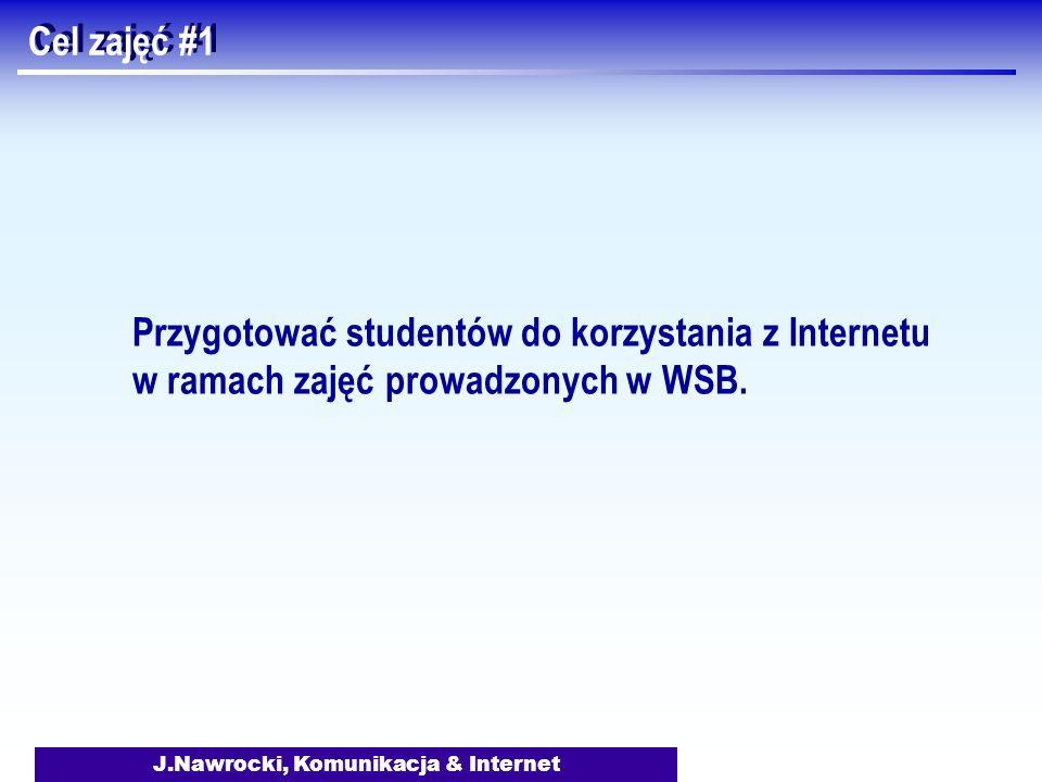 J.Nawrocki, Komunikacja & Internet