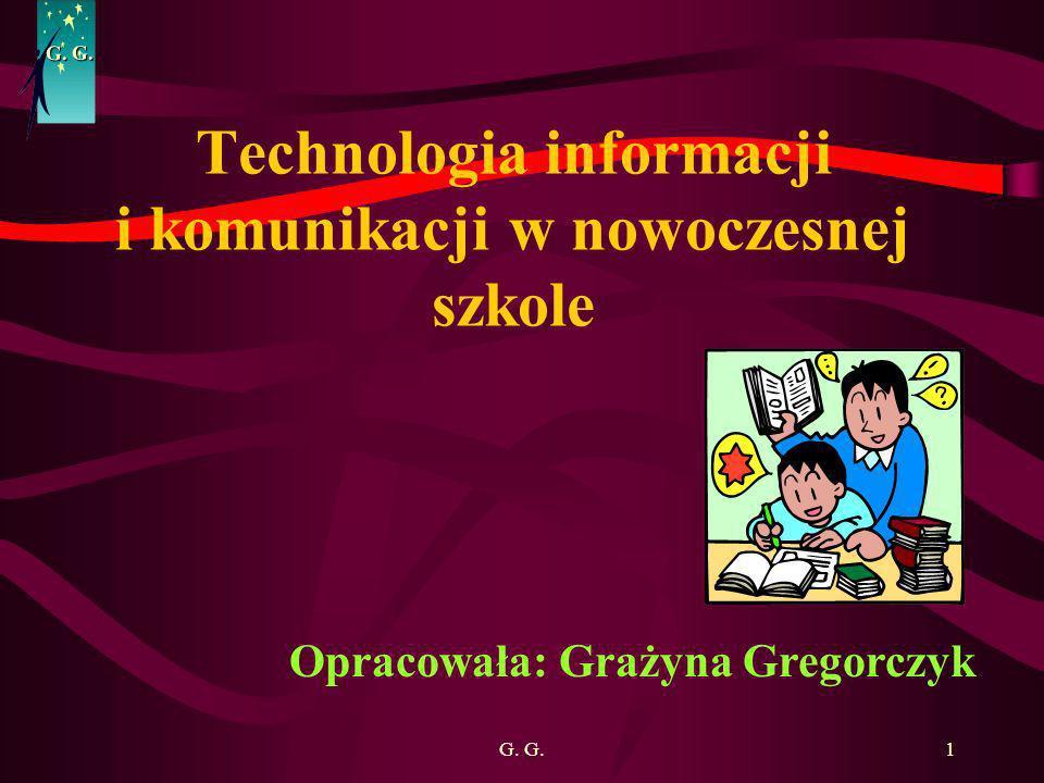 Technologia informacji i komunikacji w nowoczesnej szkole