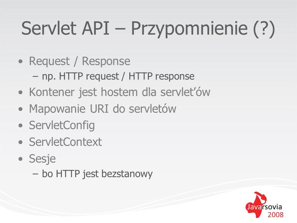 Servlet API – Przypomnienie ( )
