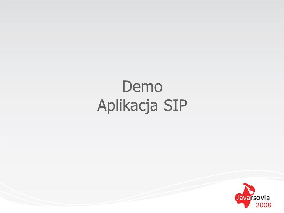 Demo Aplikacja SIP
