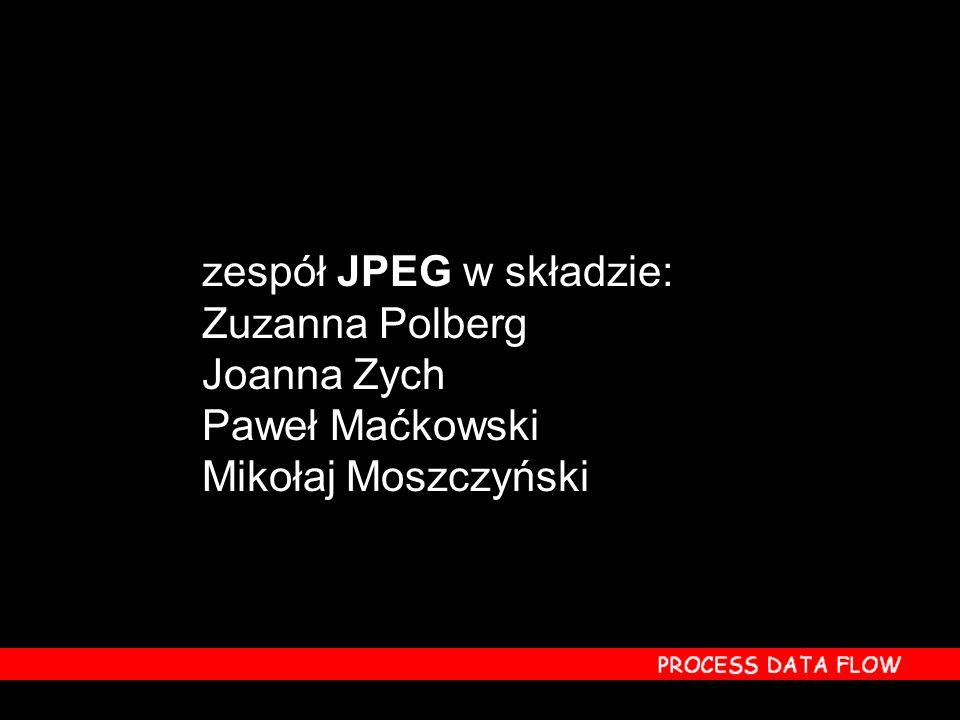 zespół JPEG w składzie: