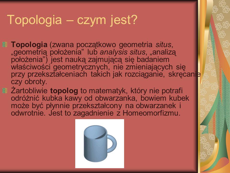Topologia – czym jest