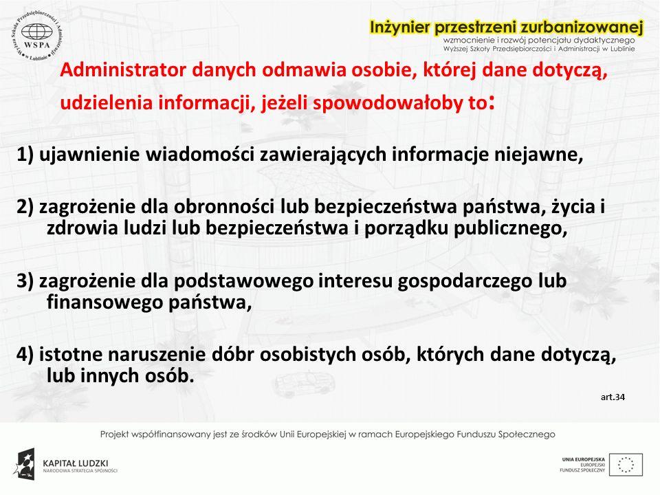 1) ujawnienie wiadomości zawierających informacje niejawne,