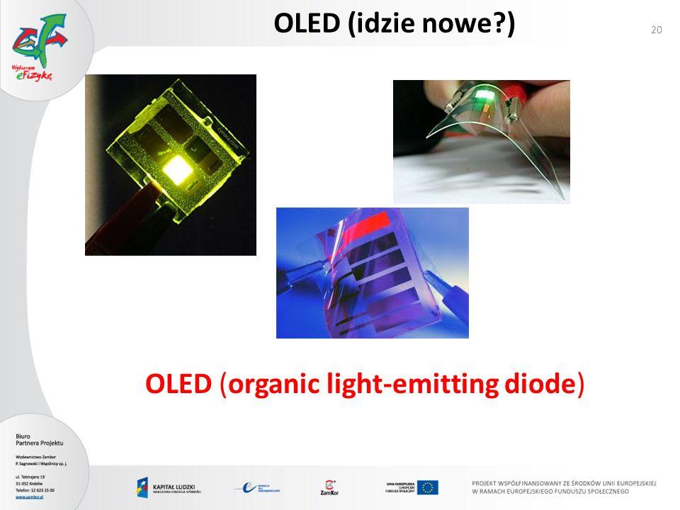 OLED (idzie nowe ) OLED (organic light-emitting diode)