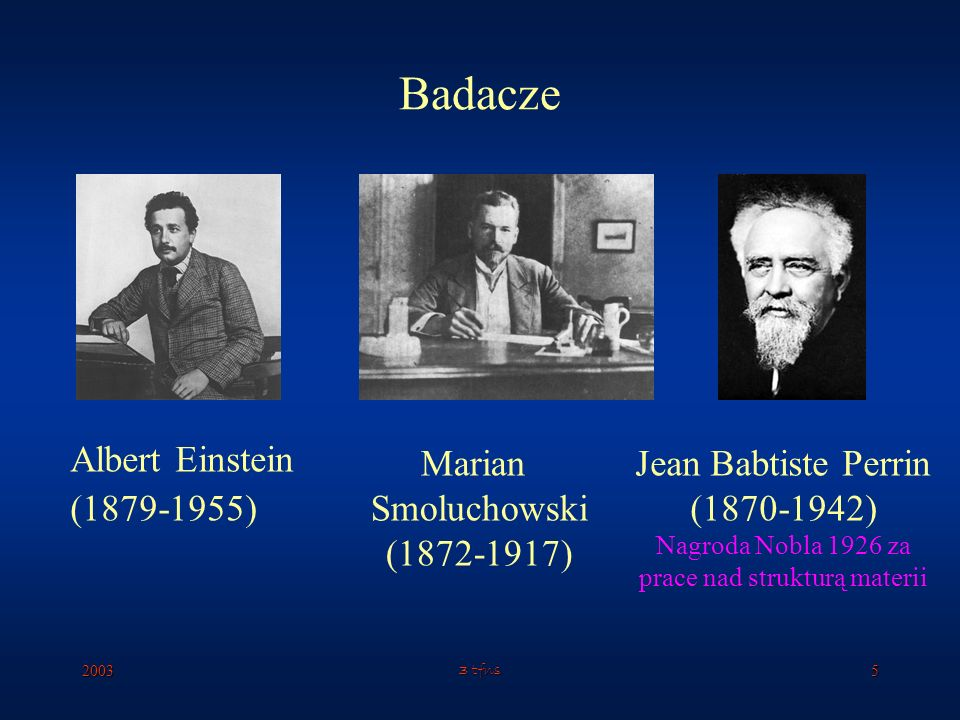 Nagroda Nobla 1926 za prace nad strukturą materii