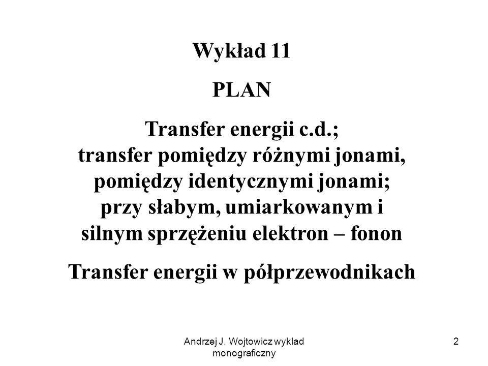 Transfer energii w półprzewodnikach