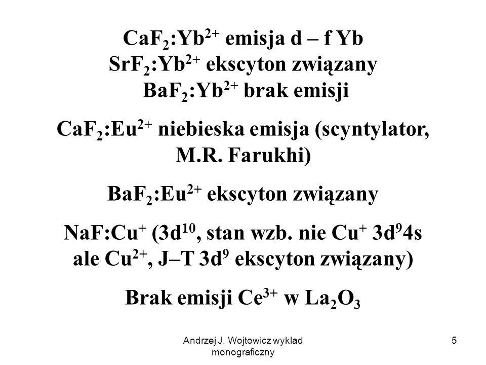 CaF2:Eu2+ niebieska emisja (scyntylator, M.R. Farukhi)