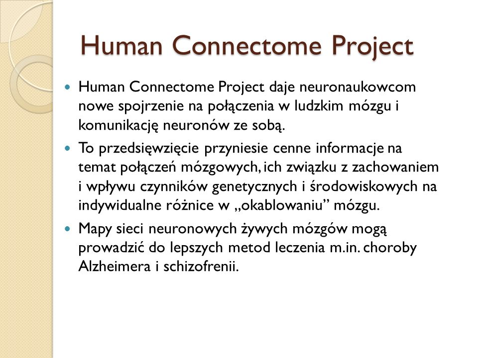 Human Connectome Project